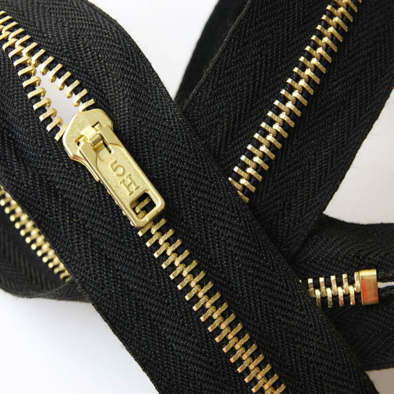 Nomex® IIIA Brass Teeth Zipper